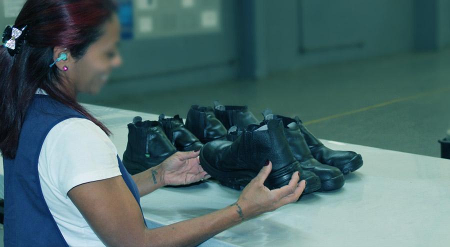 Higienização de botas